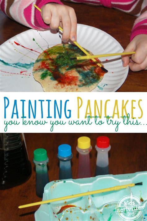 painting pancakes modern art   eat