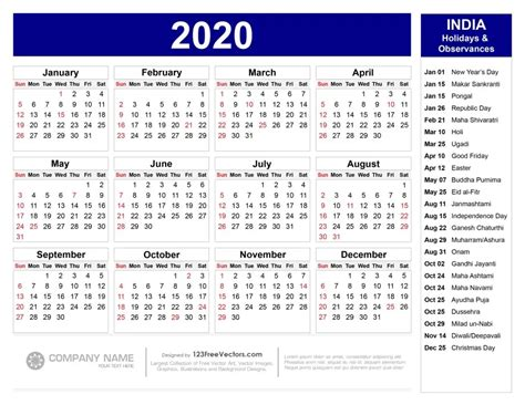 calendar  indian holidays  calendar