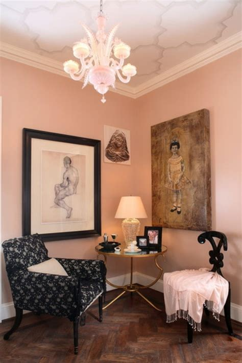 farbgestaltung und bunte wohnideen rosa im einsatz