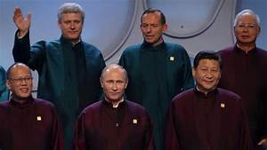 Tony Abbott's close encounter with Vladimir Putin at APEC ...