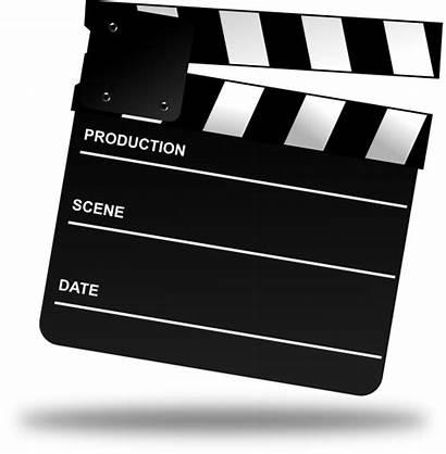Board Clapper Clip Clipart Movies Clker Vector
