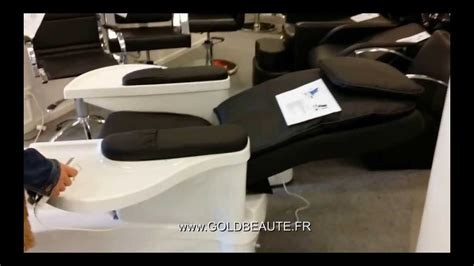 www goldbeaute fr fauteuil p 201 dicure spa pedispa youtube