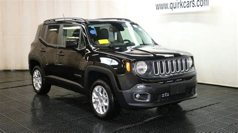 New 2017 Jeep Renegade Latitude Sport Utility In Braintree