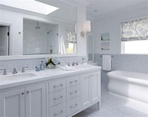 Amazing Of Elegant Stunning White Bathroom Ideas Blue And