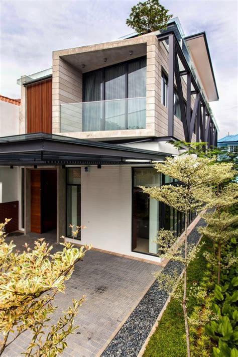 modern semi detached house  singapore adorable home