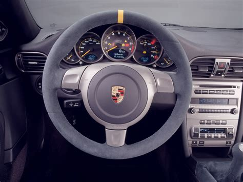 porsche  gt rs steering wheel  wallpaper