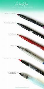 17 best ideas about brush pen on pinterest calligraphy With best brush pens for hand lettering