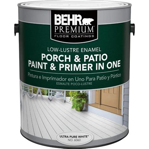 behr premium 1 gal 6060 ultra white low lustre