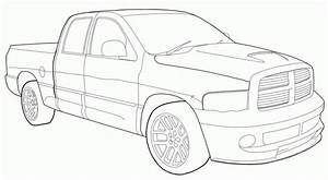 dodge ram 1500 trucks truck car coloring pages new cars With 1960 ford crew cab