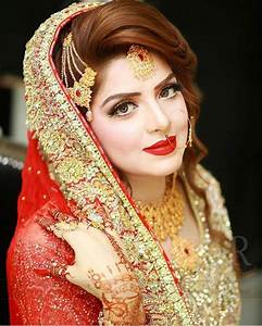 Most Popular Bridal Hairstyles Reception Hairstyles: How To Nail Your Wedding Look Pakistani