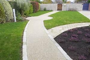 gravier lave allee jardin idees de design maison et With allee de jardin en galet 17 terrasse gravier lave