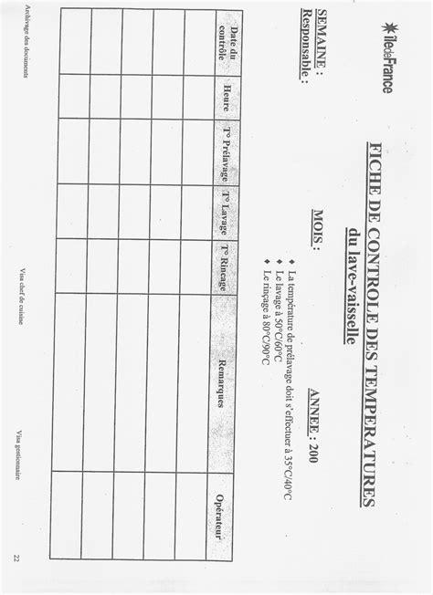 service veterinaire cuisine les fiches d enregistrement pour le haccp cuisines et astuces d 39 un vrai cuisinier
