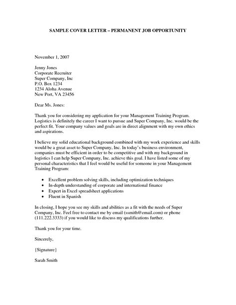 va application  employment cover letter