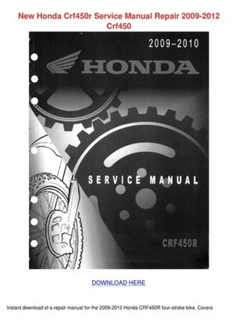 free online car repair manuals download 2004 honda pilot lane departure warning new honda crf450r service manual repair 2009 by rositareeves issuu