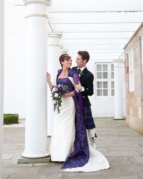 Claire and Frank getting married at Turnberry Joyce