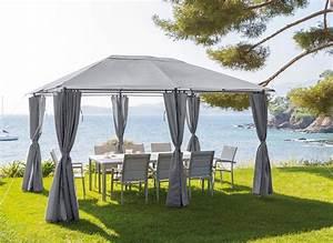 Tonnelle De Jardin Hespride Santorini 3 X 4 M Jardideco