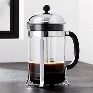 French Press Kaffeepulver : bodum chambord 51 ounce french press reviews crate and barrel ~ Orissabook.com Haus und Dekorationen