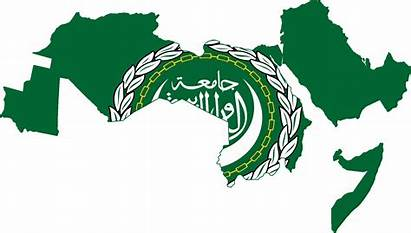 Arab League Flag Map Country Emblem Flags