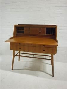 Bureau Secretaire Vintage : vintage design scandinavische secretaire bestwelhip ~ Teatrodelosmanantiales.com Idées de Décoration