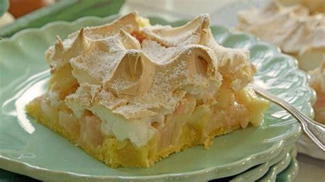 Rhabarber-baiser-kuchen Vom Blech
