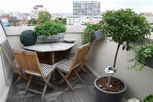 decoration terrasse appartement With idee deco terrasse appartement