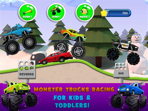 Monster Trucks Game For Kids 2 Download Apk For Android