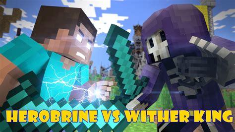 Minecraft Animation Wallpaper - minecraft anima 231 245 es herobrine vs wither king