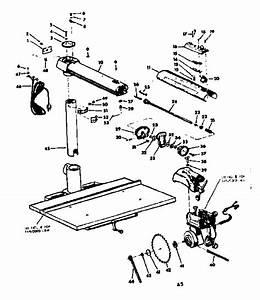 Craftsman Model 11329441 Saw Radial Genuine Parts