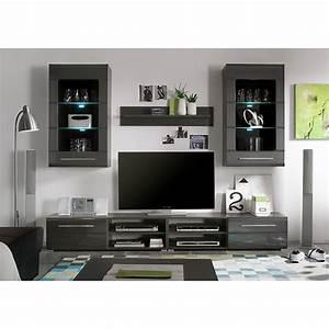 Wohnwand Hochglanz Grau : jetzt bei home24 wohnwand von roomscape home24 ~ Eleganceandgraceweddings.com Haus und Dekorationen