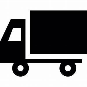 Truck Silhouette - Free transport icons