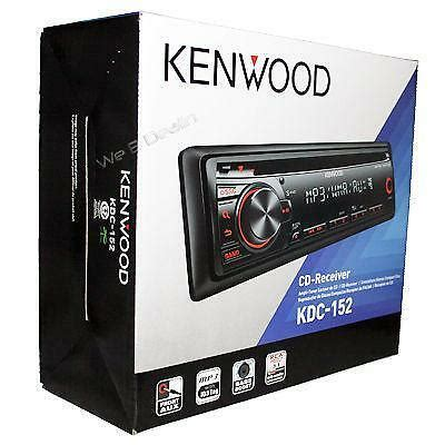 kenwood kdc 152 car audio in dash units ebay