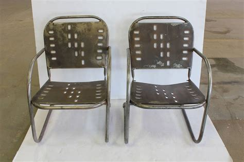 mid century garden metal lounge chairs for sale at 1stdibs