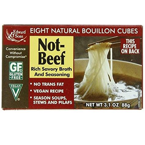 amazoncom edward sons  chicken bouillon cubes