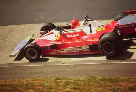 German gp 1976 niki lauda flying with is ferrari 312t old racing photo. Nürburgring 1976 - Niki Lauda auf Ferrari - a photo on Flickriver