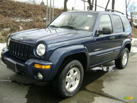 patriot jeep blue 2002 patriot blue pearlcoat jeep liberty limited 4x4