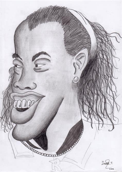 caricatura ronaldinho 02 by dtrreu on deviantart