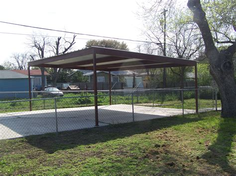 Car Port Metal by Metal Two Car Carport Central San Antonio