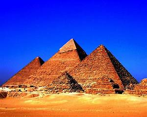 Who Built the Pyramids, How and Why ? – The Earth Expanded  Egyptian