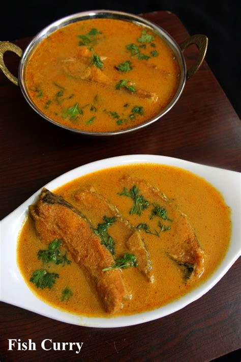 fish curry recipe fish gravy south indian style yummy