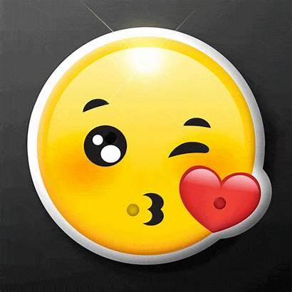 Emoji Kissy Face Kiss Party Pins Flashing