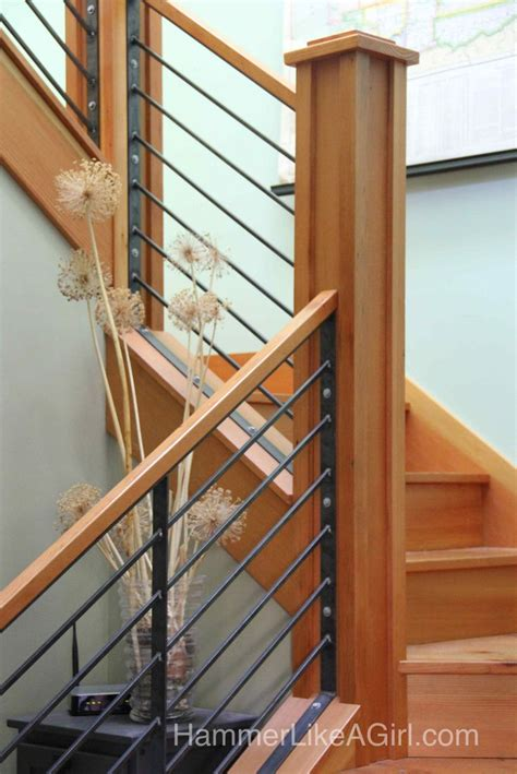Metal Banister Railing by 25 Best Ideas About Metal Stair Railing On