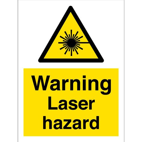 laser light warning label warning laser hazard signs from key signs uk