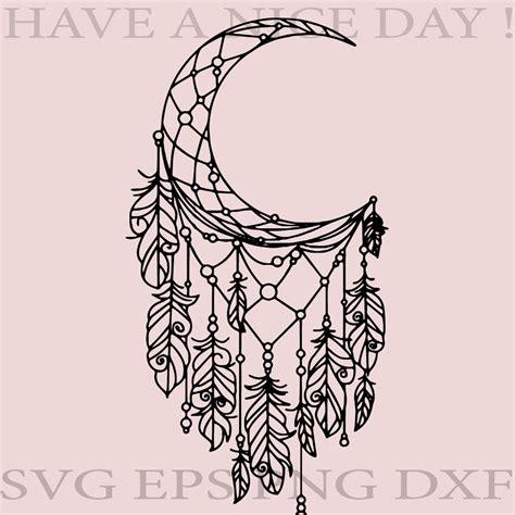 Beautiful wall clock vector for laser cutting. Layered Mandala Half Moon Svg Design - Free Layered SVG ...