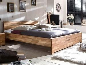 Massivholz Betten 180x200 : massivholzbett savin 180x200 wildeiche ge lt doppelbett schlafzimmer wohnbereiche schlafzimmer ~ Markanthonyermac.com Haus und Dekorationen