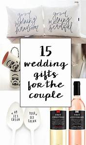 15 sentimental wedding gifts for the couple creative With wedding gift ideas for couple