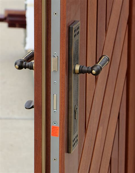 security armored doors  mahogany cl
