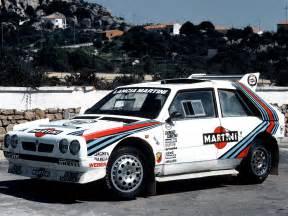 Group B Lancia Delta S4 Rally Car