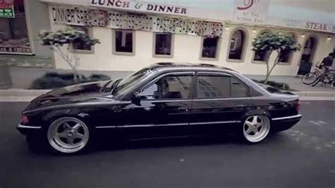 BMW 7 series E38 stanceworks - YouTube
