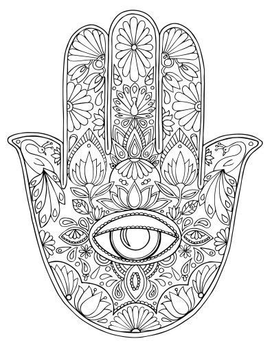 Kleurplaat Hamsa by Pin By Karole Potter On Coloring Mandala Ausmalen