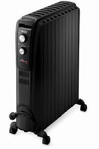 Radiateur Electrique Bain D Huile : radiateur bain d 39 huile delonghi trd41025b 4289250 darty ~ Melissatoandfro.com Idées de Décoration